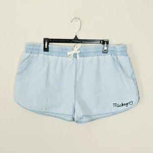 | Sale | Junk Food Disney • Chambray Denim Shorts